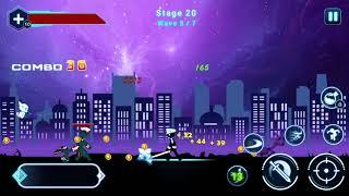Stickman Ghost 2 : Galaxy Wars _ Kill Boss 2