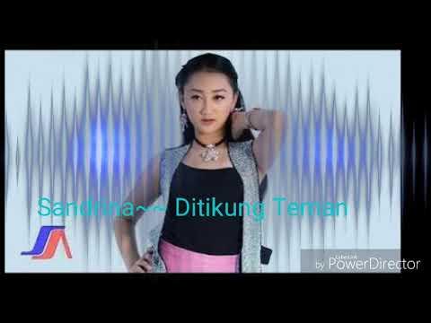 SANDRINA DI TIKUNG TEMAN (Official Lyric Video)