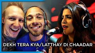 Quratulain Balouch & Farhan Saeed, Dekh Tera Kya/Latthay Di Chaadar, CS 10, Ep 4   Reaction by RnJ