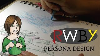 RWBY Persona ::Creating A Character's Look ::