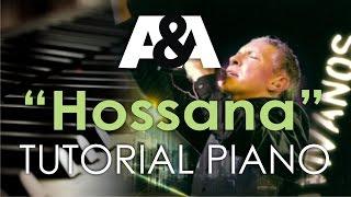 Hossana MARCO BARRIENTOS Tutorial Piano (AVIVANOS 2008)