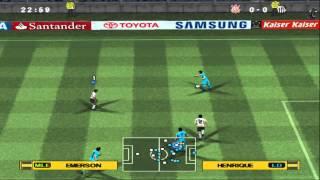 Pro Evolution Soccer 2013 (PES2013) [Narração Silvio Luiz] on PCSX2 1.0 - Playstation 2 Emulator