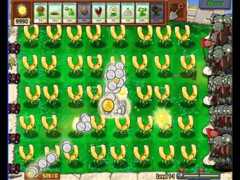 Money Magnets & Marigold Hack Plants VS Zombies