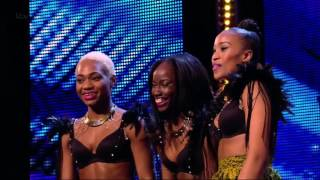 CEO DANCERS   Britain's Got Talent HD 2013 Week 2 Azonto