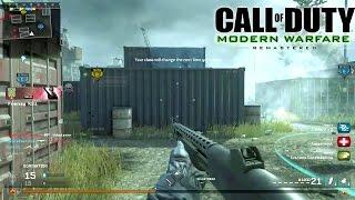 SHOTGUN + SHIPMENT = WIN! - CoD 4 Modern Warfare Remastered