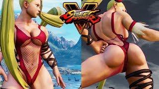 R. Mika Sexy Superstar Mod | Street Fighter 5 Modding