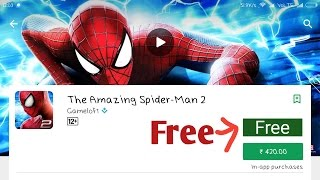 How to download the amazing spider man 2 free for android