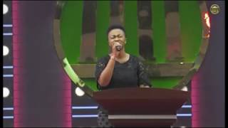 EFE GRACE sings Excess Love by Mercy Chinwo