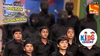 Tapu Sena Prepares To Fight The Ghost   Tapu Sena Special   Taarak Mehta Ka Ooltah Chashmah