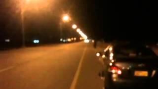 Hayabusa VS Supra fly by (race)
