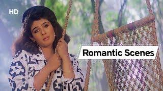 Raveena Tandon & Ajay Devgn romantic scenes from Ek Hi Raasta   Hindi Action Movie