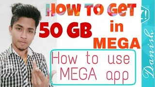 How to get 50 GB in MEGA | How to use MEGA | How to Log in into MEGA