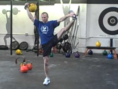 Sergey Rudnev Performs Several Feats of Strength II