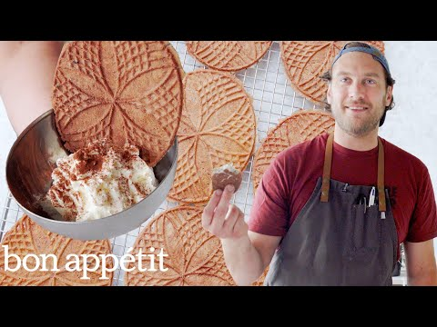 Brad Makes Sourdough Pizzelle Cookies It s Alive Bon Appétit