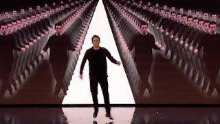 David Geane Taps Dance At A New Level! | Audition 7 | Britain