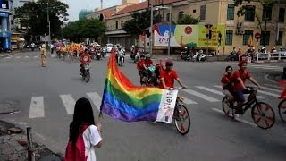 Vietnam hosts third gay pride parade as attitudes soften