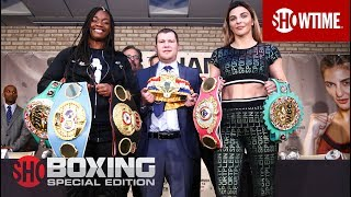 Shields vs. Hammer: Kickoff Press Conference | SHOWTIME BOXING: SPECIAL EDITION
