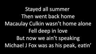 Timeflies - Summer Girls Lyrics