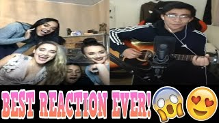 YOUNOW SINGING | BEST REACTIONS EVER! [MUST WATCH]