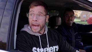 """Christmas Carpool Karaoke (with Pittsburgh Dad & Santonio Homes"" by Cornerstone Worship LIVE"