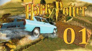 Let's Play Harry Potter und die Kammer des Schreckens Gameplay [PS1] #001 - Sturzflug ins 2. Jahr!
