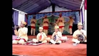 Woow kecil-kecil suaranya mantap.... Juara 1 festival Marawis Al-Ikhwan