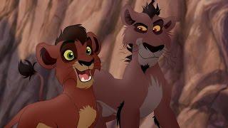 Lion Guard: Meet Kovu, Nuka, Vitani & Zira!   Lions of the Outlands HD Clip