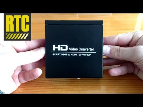 Download SCART to HDMI HD video converter adapter with cable HD Mp4 3GP Video and MP3
