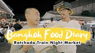JAJANAN ENAK PASAR MALAM THAILAND - BANGKOK FOOD DIARY EPS. 4