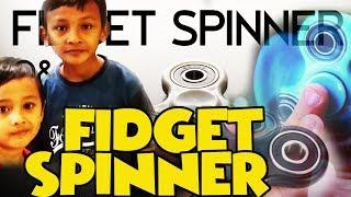 ASYIK! Fidget Spinner Review Fidget Keren dan Trending!