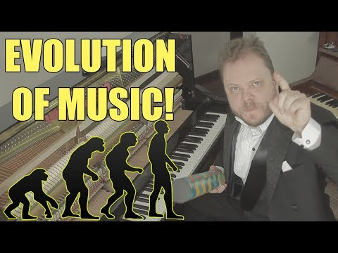 Evolution of Music 1680 AD 2017