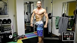 45 Years Old - 6 Foot 1 Inch - 193 Pounds - 5-6% Body Fat - Update Video