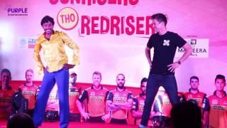 Sun Risers(srh) Dance Performance | 2017 |IPL10 |  Hyderabad | Purple Entertainments