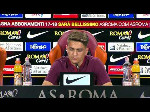 Conferenza stampa, Ünder: