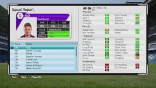 FIFA 16 CAREER SAUL NIGUEZ FULL POTENTIAL (89+)