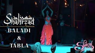 Shahrzad performing baladi and tabla live show