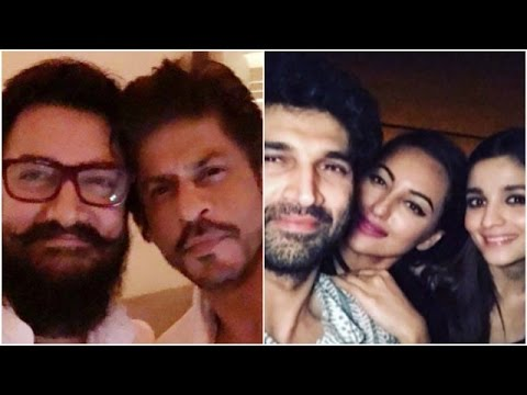 Shahrukh-Aamir Planning Something | Varun-Alia Party Hard with Aditya,Sonakshi