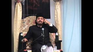 First  jashan by Maulana Absar hussain naqvi 1st shia imam bargha Babulilm pt 3