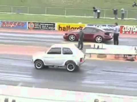 Fiat 147 vs Porsche