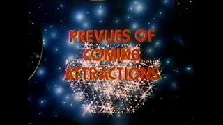 Family Home Entertainment Logo 1982 Soda Pop Prevues of Coming Attractions