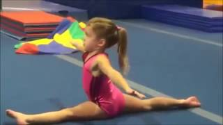 Amazing 6 Year Old Gymnast Level 6