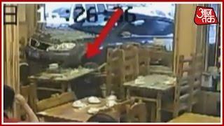 Over-speeding Car Rams Into Restaurant In China; 4 Hurt