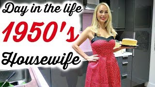 1950'S HOUSEWIFE FOR A DAY  |  1950's CLEANING ROUTINE