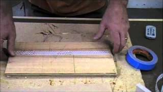 Woodworking Project - How to Make a Jewelry Box - Part 1 - Band Saw Resaw & Vacuum Press