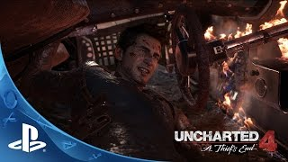 UNCHARTED 4: A Thief's End - E3 2015 - Sam Pursuit Gameplay | PS4