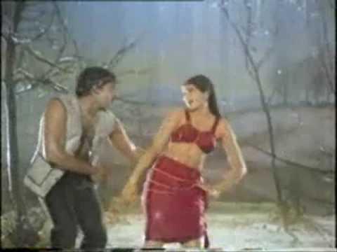 Sumalatha Hot and Wet in Telugu Movie