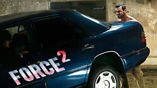 Force 2 : John Abraham Lifts 1580 Kgs Mercedes Benz In Real