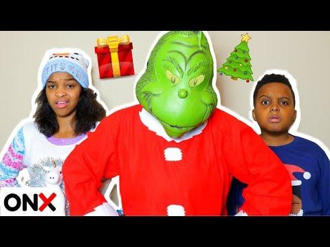 Xxx Mp4 THE GRINCH VISITS Shiloh And Shasha Onyx Kids 3gp Sex