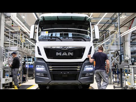 Manufacturing MAN trucks Production heavy goods vehicles