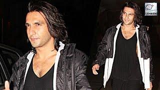 Ranveer Singh Says BYE-BYE To Padmaavat Look! | LehrenTV